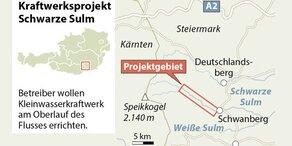 EuGH kippt EU-Klage gegen Kraftwerk Scharze Sulm