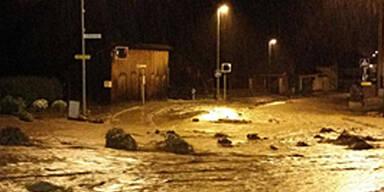 Schwere Unwetter-Schäden in Tirol