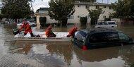 Silicon Valley: Tausende flüchten vor Hochwasser