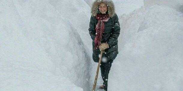 Schneerekord im Osten Österreichs