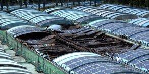 Hitze setzte Solaranlagen in Brand