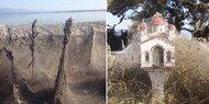 Irre! Spinnen überziehen Landschaft mit 1.000-Meter-Netz