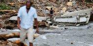 Sintflut-Regen in Sri Lanka: Mehr als 160 Tote