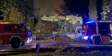 Heftige Gasexplosion zerstörte Schule in Dornbirn