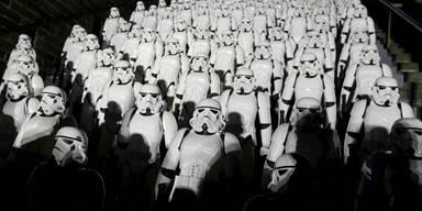 Der Star Wars-Hype macht auch vor der Chinesischen Mauer nicht halt