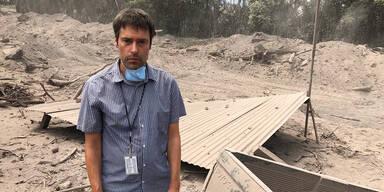 Herbert Bauernebel Guatemala Vulkan Volcán de Fuego