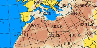 Saharastaub kommt nach Österreich
