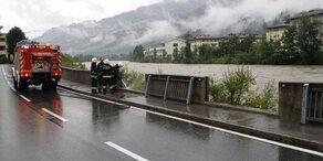 Salzburg: Hochwasser-Gefahr geht zurück