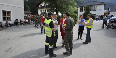 Einsatzbesprechung in St. Lorenzen