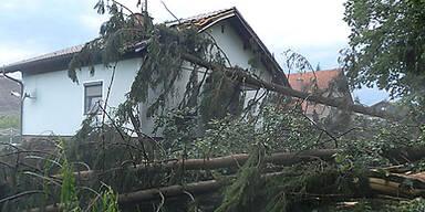 Unwetter in der Steiermark