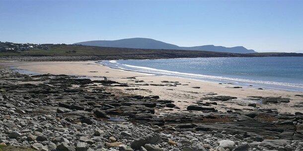 Dooagh: In Irland taucht ein versunkener Strand nach 33 Jahren wieder auf