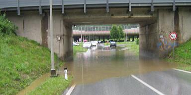Unwetterschäden in der Steiermark