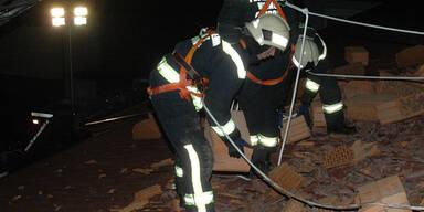 Feuerwehr im Dauereinsatz