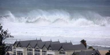 Eine Tote durch Sturm auf La Réunion