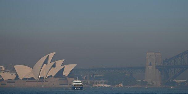 Buschfeuer: Sydney versinkt im Rauch