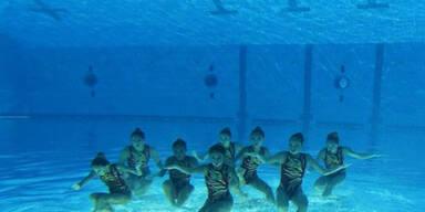 Synchronschwimmen in Perfektion