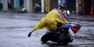 "Taifun ""Megi"" verwüstet Taiwan"