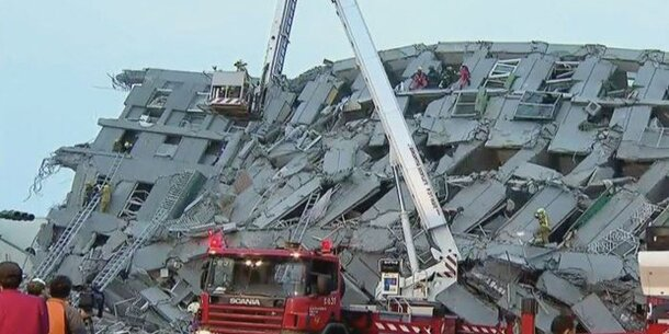 Horror-Erdbeben in Taiwan fordert 4 Tote