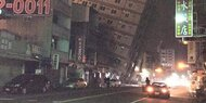 Schweres Erdbeben in Taiwan: Mind. 11 Tote