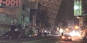 Schweres Erdbeben in Taiwan: Mind. 7 Tote