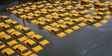 Sandy in NY: Yellow Cabs