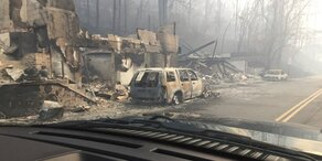 Schwere Waldbrände in Tennessee: Schon 7 Tote