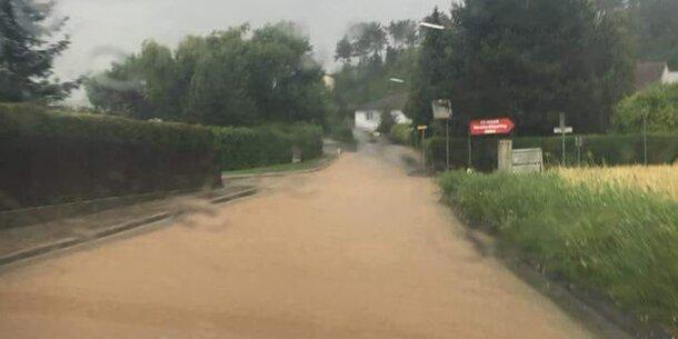 Wieder Regen im Katastrophengebiet