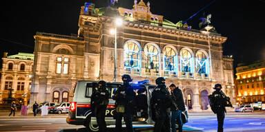 Terror in Wien - Angeschossener Polizist noch nicht dienstfähig