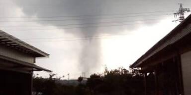 Tornado bei Tokio