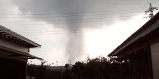 Tornado fordert ein Menschenleben