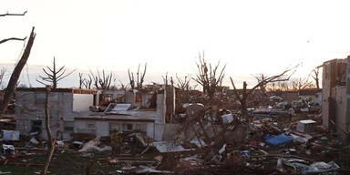 Tornados fegen über die USA