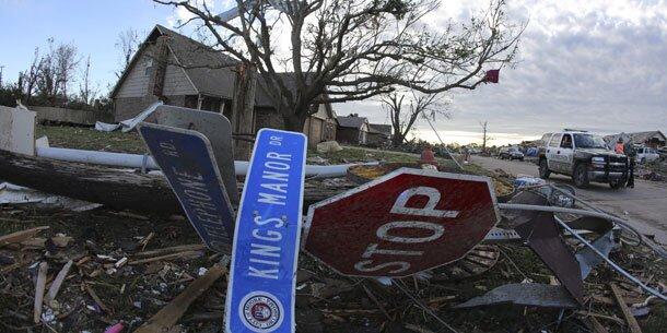 Tornado verwüstete Kleinstadt