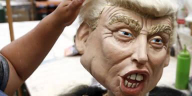 Donald Trump ist eine der beliebtesten Halloween-Masken in diesem Jahr