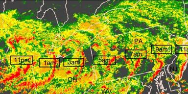 Tsunami US-Ostküste