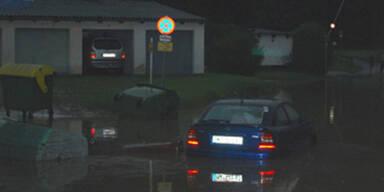 Schlimmes Unwetter in Österreich