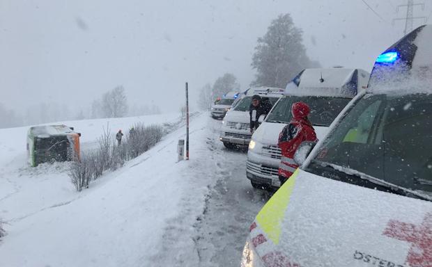 Busunfall in der Steiermark