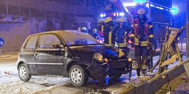 Unfall bei Baden (NÖ)