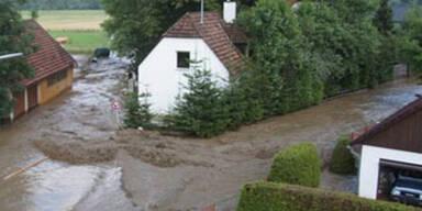 Unwetter in der Steiermark / Bezirk Murau