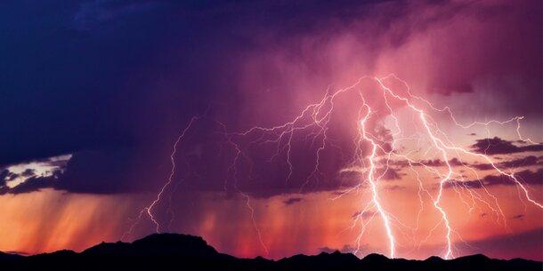 50.000 Blitze: Heftige Gewitter in ganz Österreich