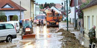 """""""Land unter"""" in Niederösterreich"""