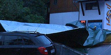 Schwere Unwetter in Österreich