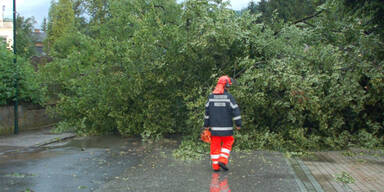 Wieder Unwetter in Österreich