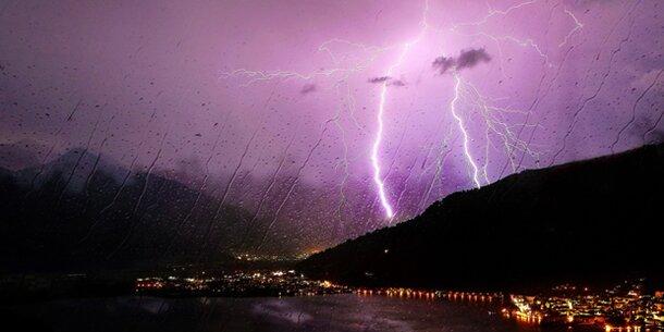 Unwetter-Walze rollt über die Steiermark