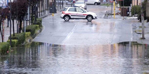 Schwere Unwetter in der Toskana