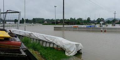 Hochwasser in Langenstein/Gusen