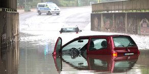 Regen-Rekord: 65 Liter in einer Stunde