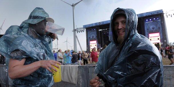 Unwetter: Nova Rock unterbrochen