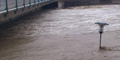 Hochwasser in St Valentin