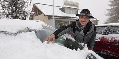 Schnee in Vorarlberg
