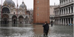 Hochwasser in Venedig - Neue Unwetter angekündigt